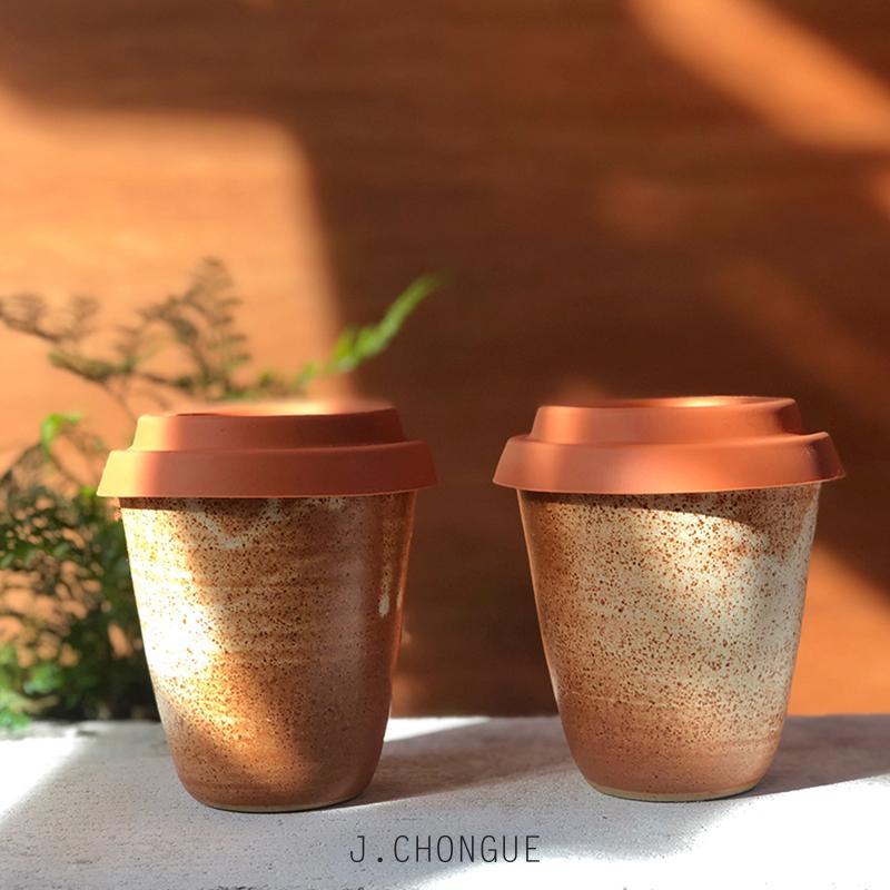 Rust Travel Cup by Arcadia Scott - THE PLANT SOCIETY ONLINE OUTPOST