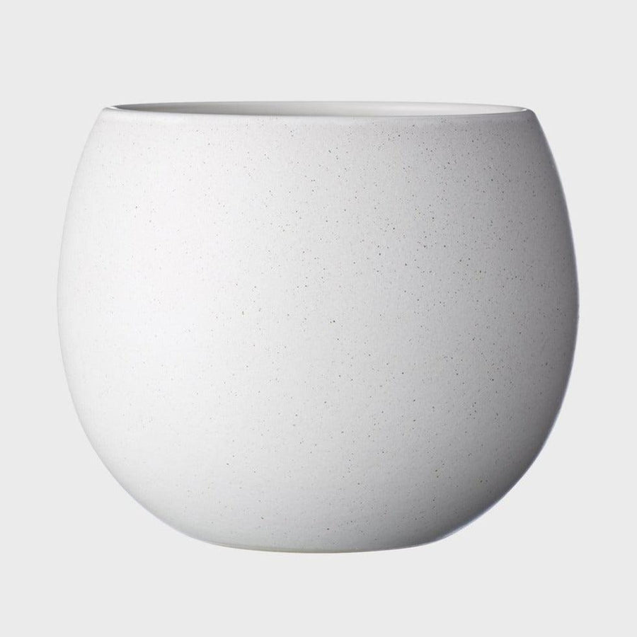 Bower Planter in white by Evergreen Collective