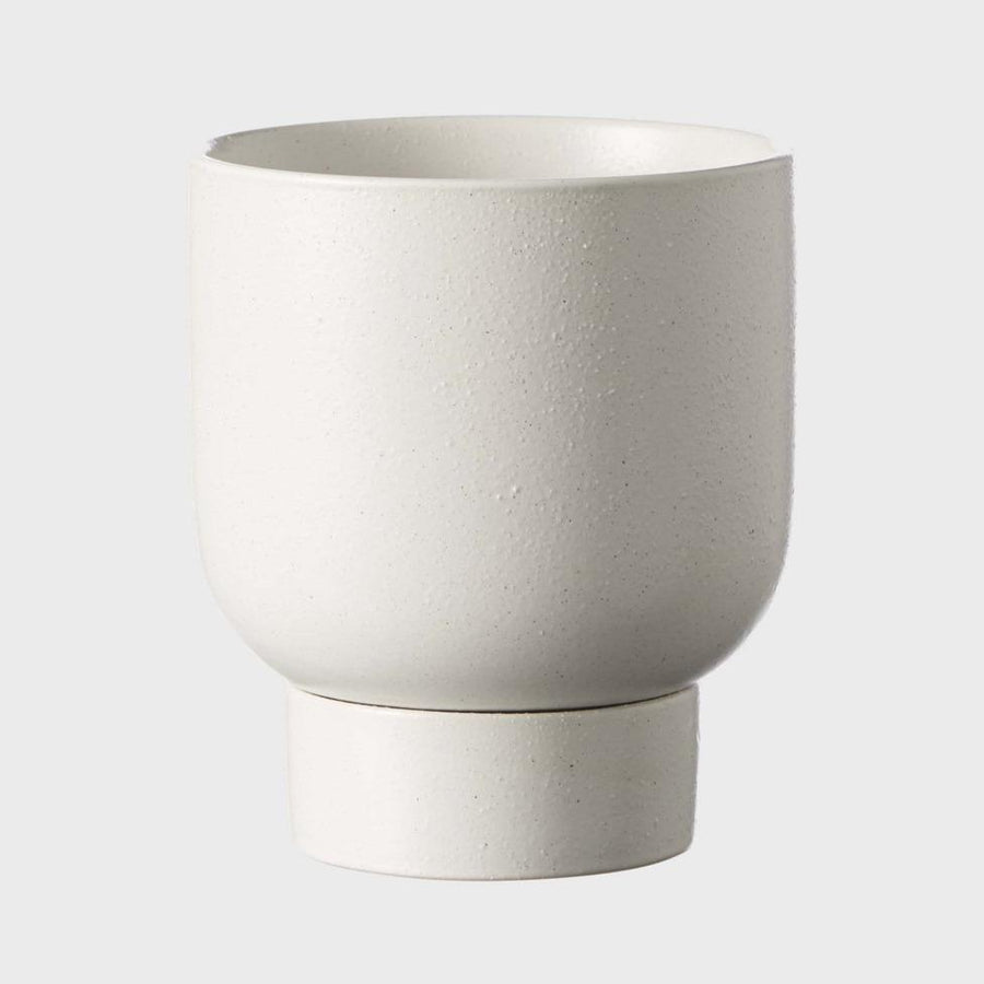 Soft White Finch Planter by Evergreen Collective - THE PLANT SOCIETY ONLINE OUTPOST