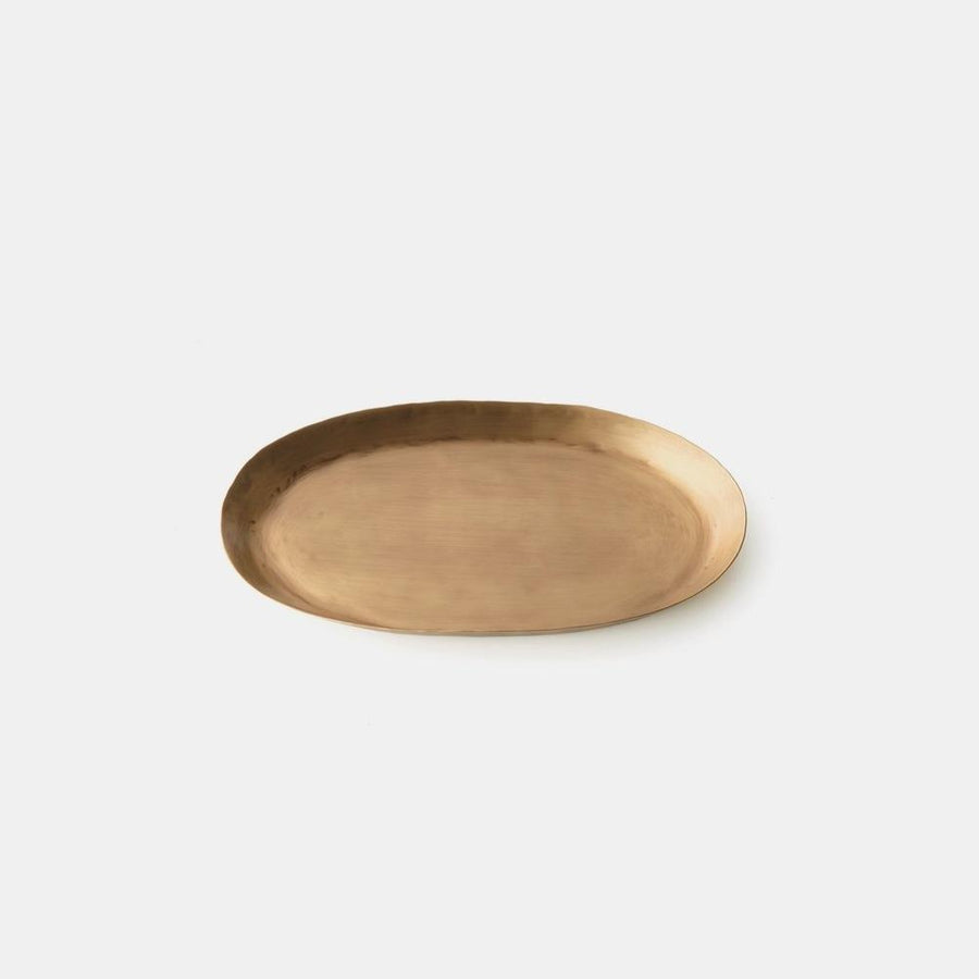 Oval Brass Trays by Fog Linen - THE PLANT SOCIETY ONLINE OUTPOST