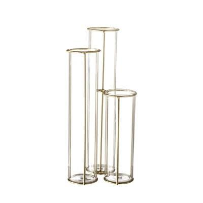 Gold Trio Vase - THE PLANT SOCIETY ONLINE OUTPOST