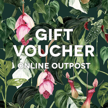 The Plant Society Digital Gift Voucher for Online Outpost