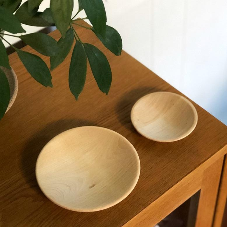 Wooden Plate by Iris Hantverk - THE PLANT SOCIETY ONLINE OUTPOST