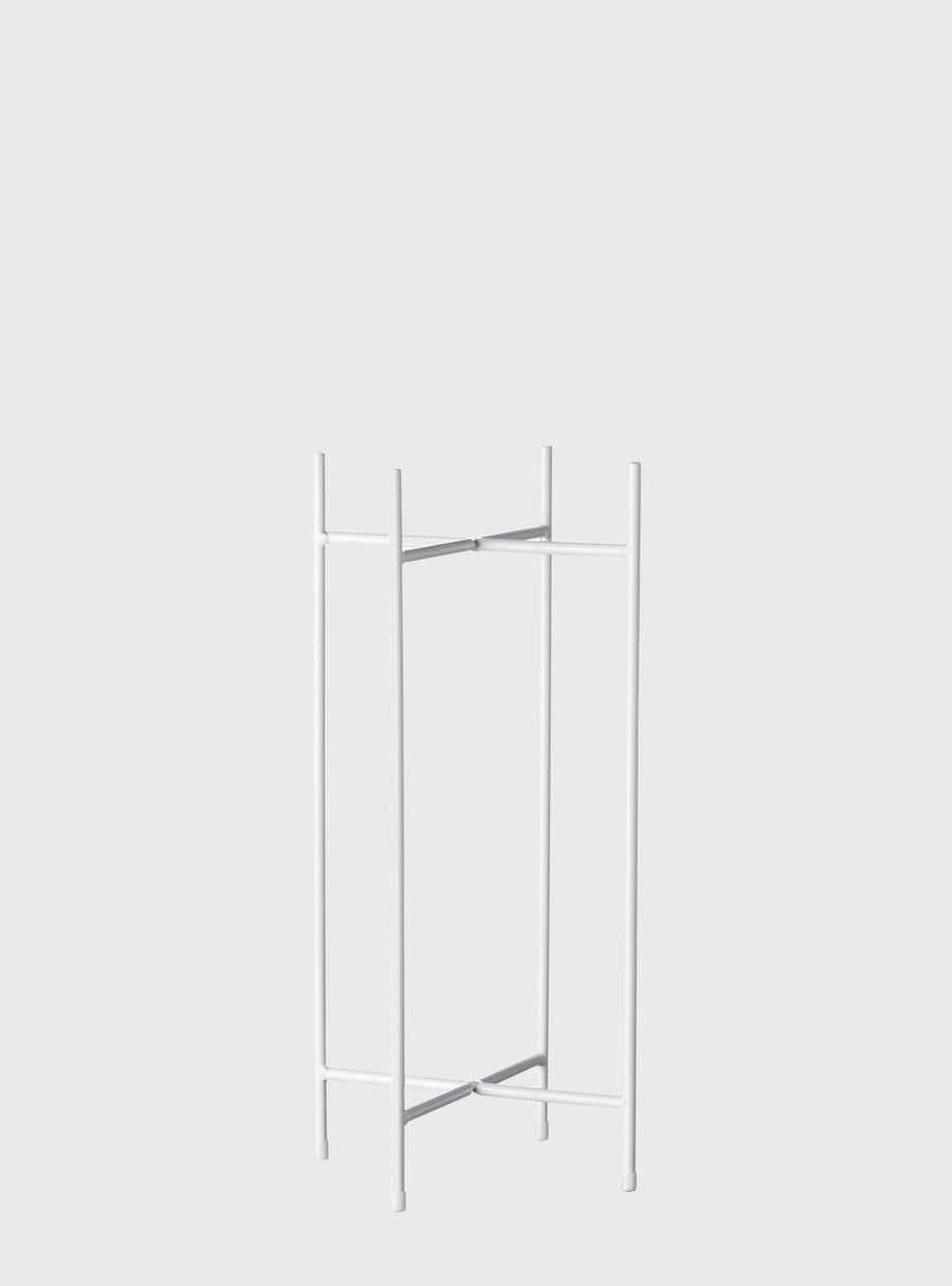 White Iris Plant Stand by Evergreen Collective - THE PLANT SOCIETY ONLINE OUTPOST