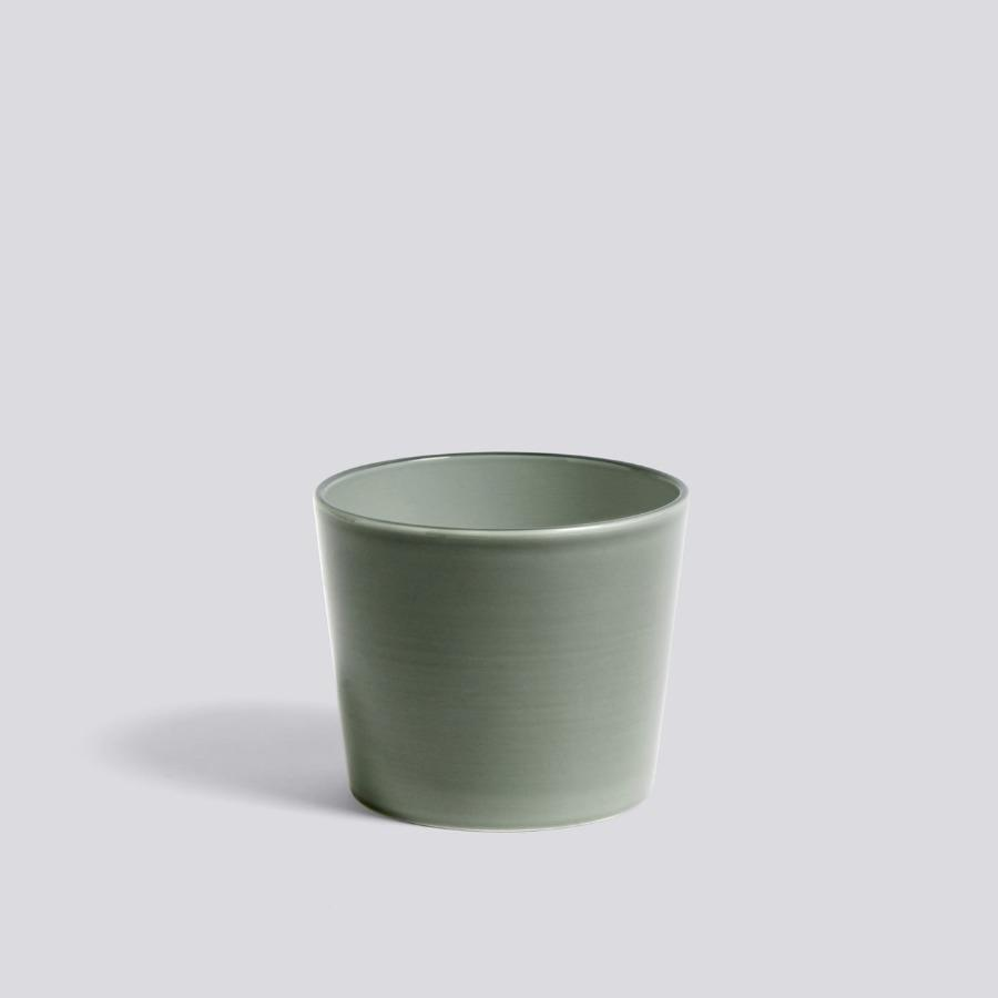 Botanical Family Pot in Dusty Green by HAY (PRE-ORDER Early October) - THE PLANT SOCIETY ONLINE OUTPOST