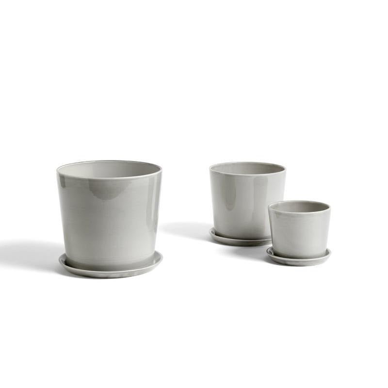 Botanical Family Pot in Light Grey by HAY (PRE-ORDER Early October) - THE PLANT SOCIETY ONLINE OUTPOST