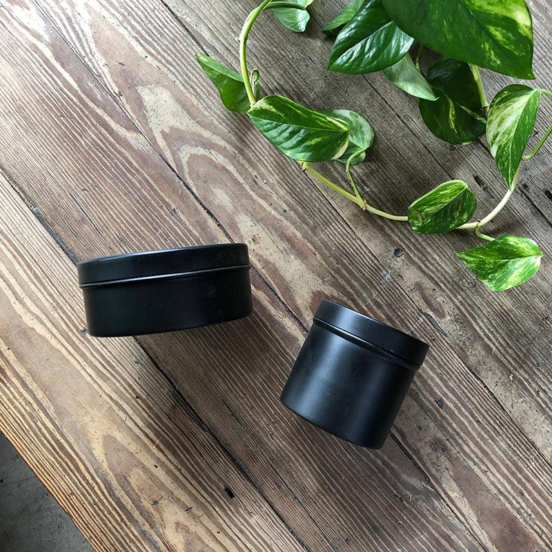 Simple Black Tin by Lightly
