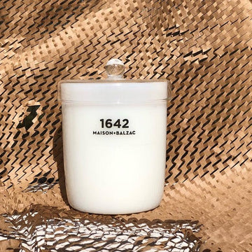 1642 Candle by Maison Balzac & Doctor Cooper