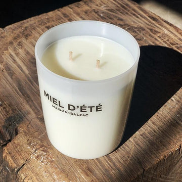 Maison Balzac Miel D'ete Candle - THE PLANT SOCIETY ONLINE OUTPOST
