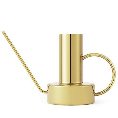 Divan Watering Can 2.5L Brass by Normann Copenhagen - THE PLANT SOCIETY ONLINE OUTPOST