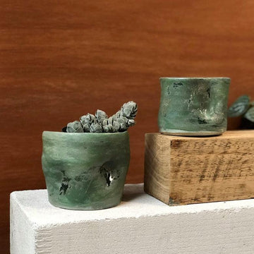 Jade Planter by Soni Ceramics
