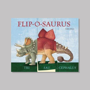 Flip-o-saurus by Sara Ball