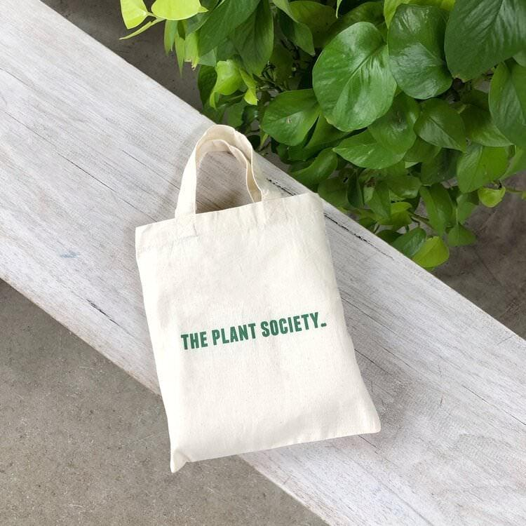 The Plant Society Tote bags