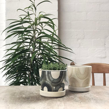 Low U Wood Fired Planters by Sandra Bowkett
