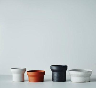 Funnel Planters by Anchor Ceramics