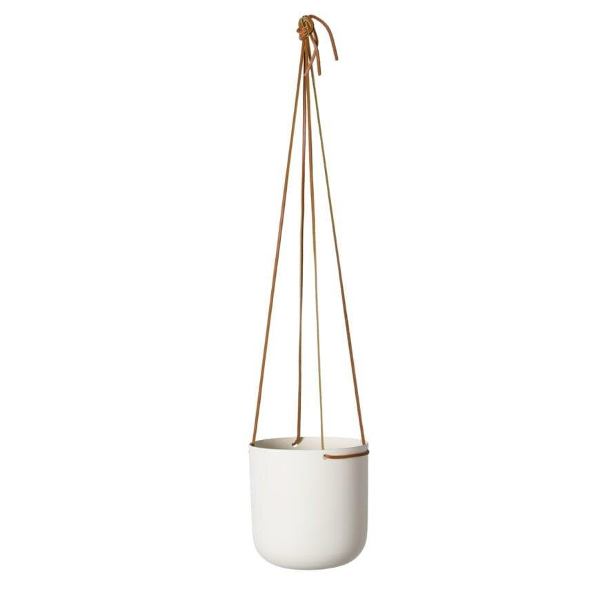 Hanging Planter White by Lightly Design
