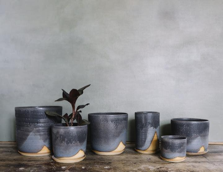 Midnight Sky Planter by Leaf & Thread