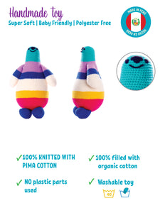 Flip The Arctic Seal - Baby Milestone Cards with Organic Toy