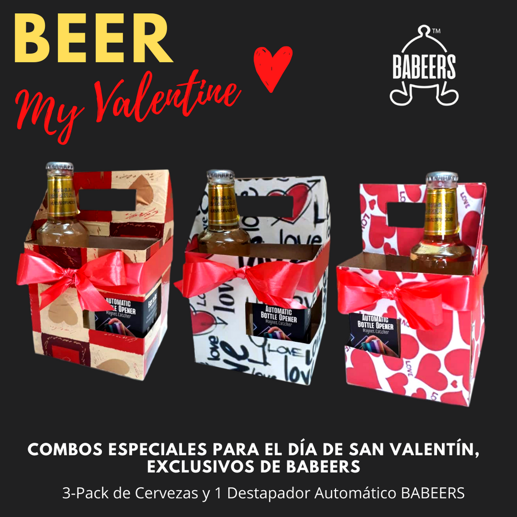 Empaque 3-Pack de Regalo BABEERS