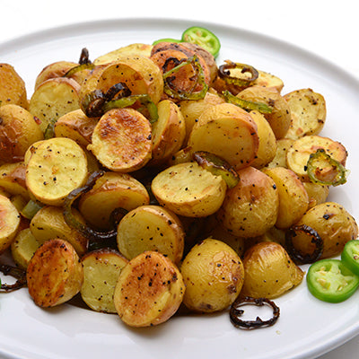 Image of Spicy Roasted baby Dutch Yellow Potatoes