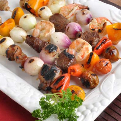 Surf and Turf Shish Kabobs