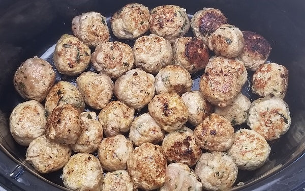 Transfer meatballs to a slow cooker. Add the Kiwi Berry sauce, cook 4-5 hours on Low. Serve with toothpicks.