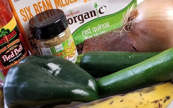 Ingredients for Caribbean Stew