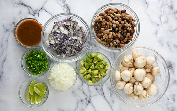 Ingredients for Sopes