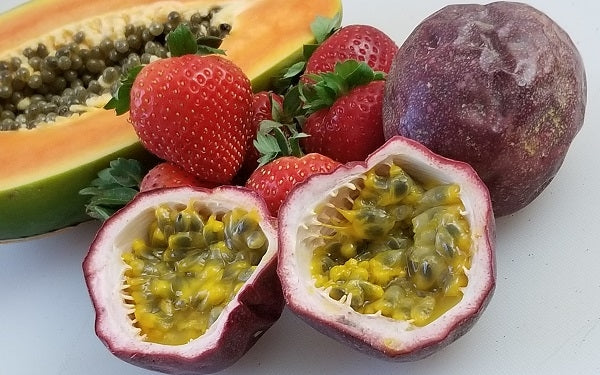Ingredients for Sugar-Free Passion Fruit Cheesecake