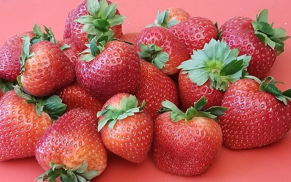 Ingredients for Roasted & Drunk Strawberries over Mascarpone Mousse
