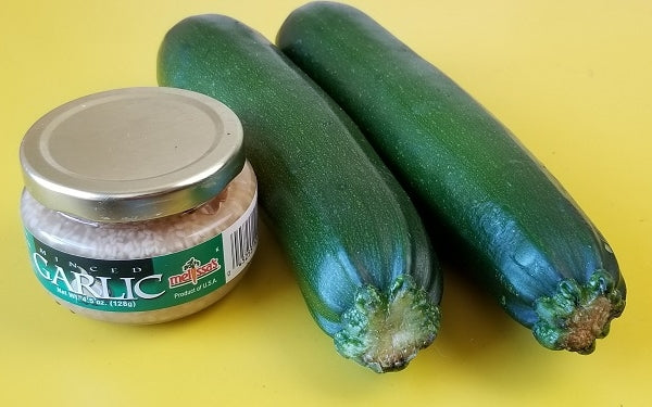 Ingredients for Zucchini Tots