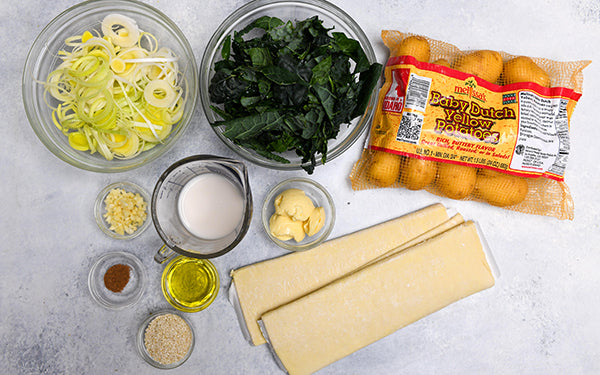 Ingredients for St. Patty's Day Hand Pies