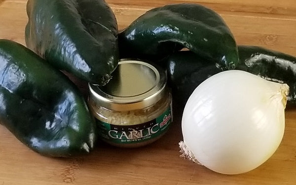 Image of ingredients for Poblano Pepper Pasta