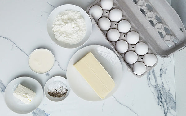 Ingredients for Egg White Base