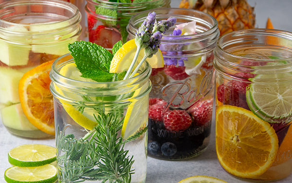 While eating plant-based is delicious, it's also good for your health. Another practice important to make part of a healthy lifestyle is to drink lots of water, which is key to maintaining maximum hydration.