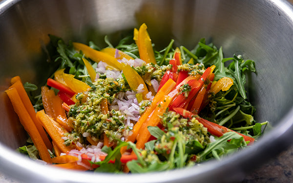 Image of salad in bowl