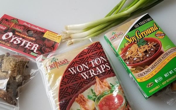 Ingredients for Soy Won Tons
