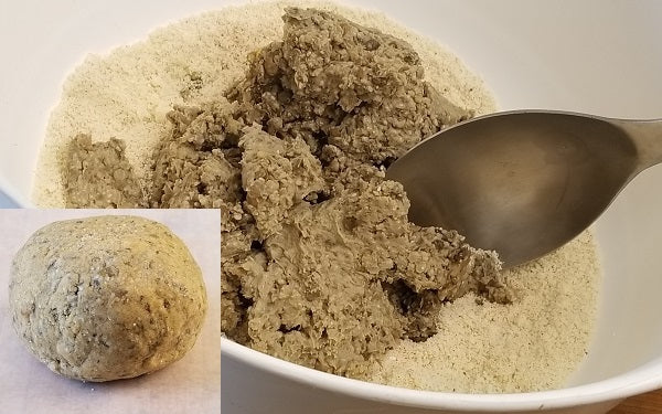 Whisk together the flour, Hatch powder, salt, and baking powder in a large bowl.