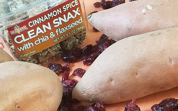 Ingredients for Clean Snax® Yam Cups