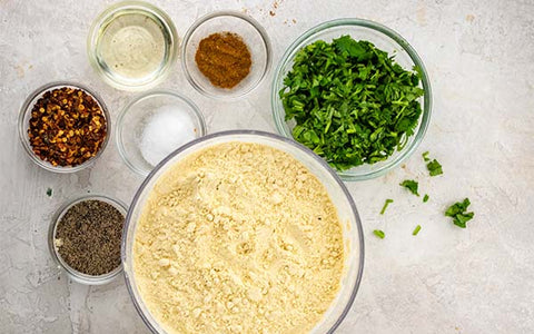 Same ingredients as above, plus ½ cup chopped cilantro