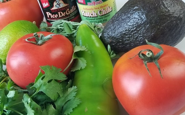 Ingredients for Almost Tamale Pie [no cornbread]