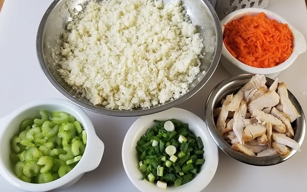 Prep all the rest of ingredients in advance [mise en place] before starting to stir fry.