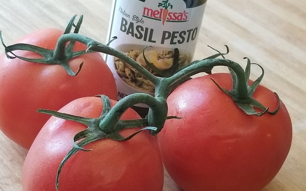 Ingredients for Holiday Stuffed Tomatoes