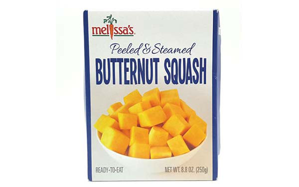 Steamed and Peeled Butternut Squash