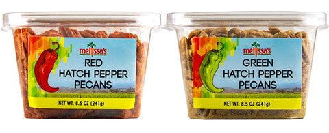 Hatch Pepper Pecans - Red and Green