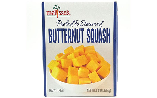Peeled and Steamed Butternut Squash