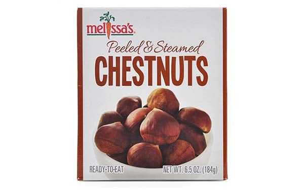 Peeled and Steamed Chestnuts