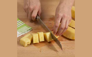Pineapples, Peeling and Chopping Step 6