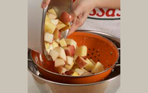 Potatoes, Preventing Oxidation Turning Brown Step 3