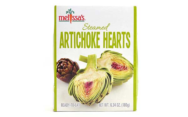 Steamed Artichoke Hearts